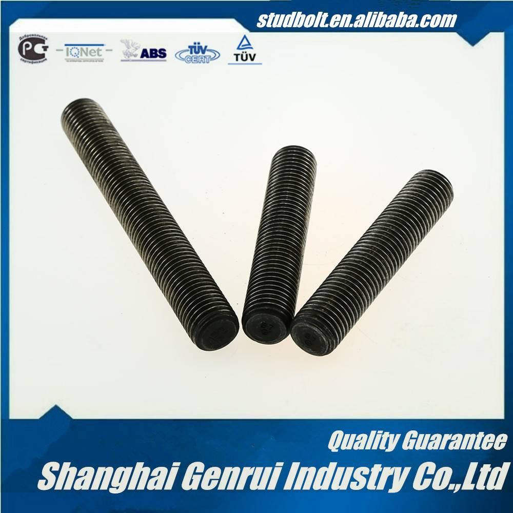"""STUD BOLT 2-1/2*LENGTH(from 25mm-10000mm or 1""""-32FT) ASTM A193 B7 PLAIN FULL THREADED"""