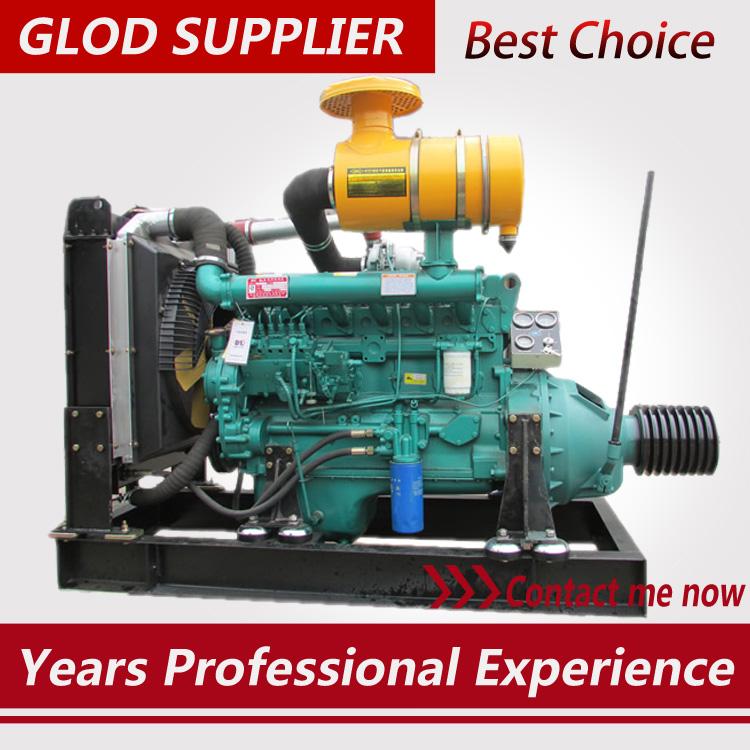 120kw diesel engine with clutch 6105IZLD engine Chinese brand
