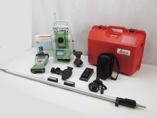 "Used Leica TCRP1203+ R400 3"" Robotic Total Station"