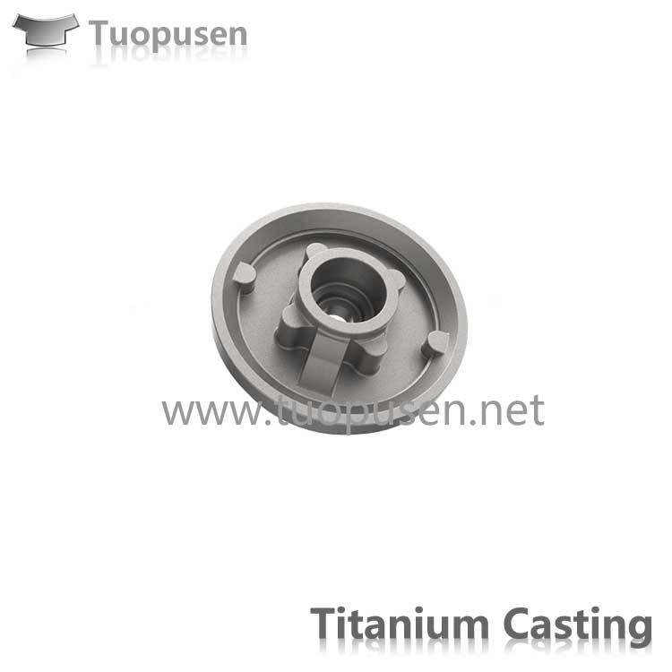 TPS titanium casting parts valve Grade C2/3/5