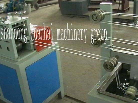 2pcs PP strapping band extrusion line