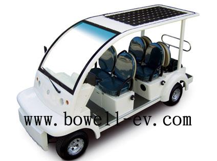 4 seat solar electric Patrol car