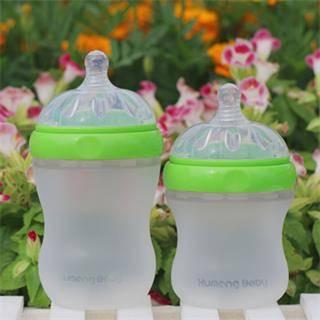 Kumeng Baby imitation breast silicone feeding bottle