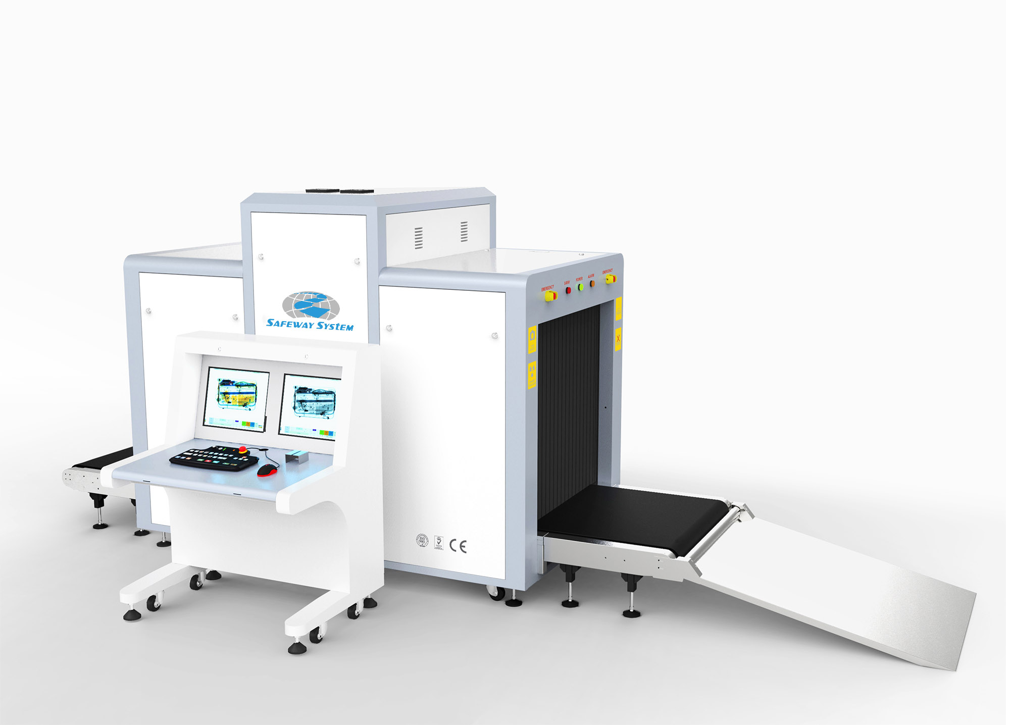 Airport Security X-ray Scanner Machine for Check-in Area