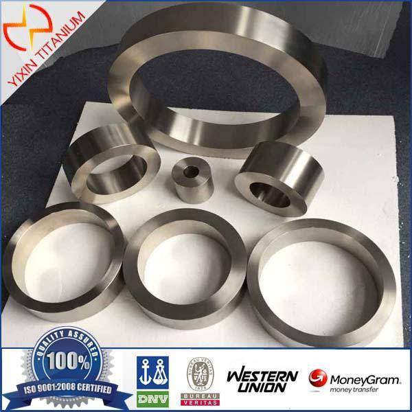 High mechanical properties titanium forging ring