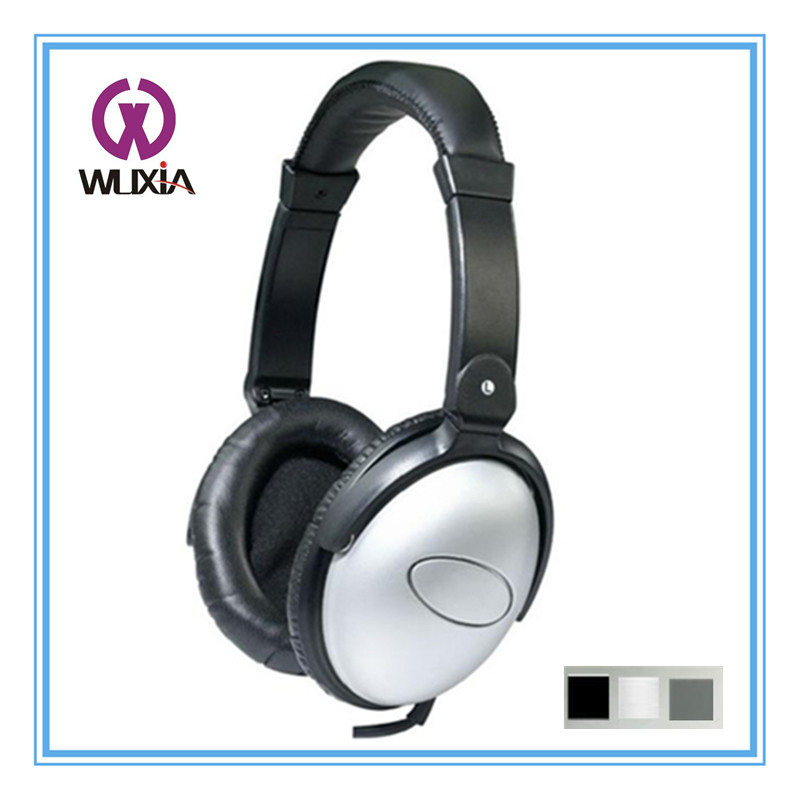 WX67N Colorful Wired Noise Cancelling Function Music Headphones