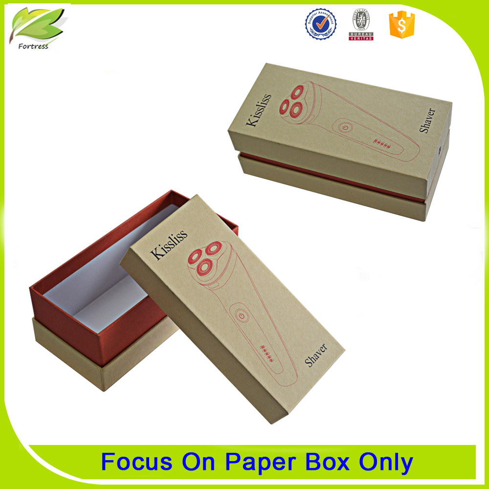 Handmade recycled paper packaging box