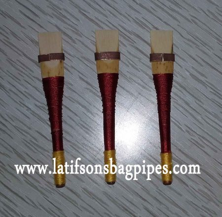 Uilleann Bagpipe Chanter Reeds of Spanish Cane.