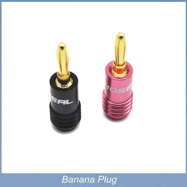 Wholesale Gold Plated Banana Plugs Nakamichi Speaker Connector Terminals Copper