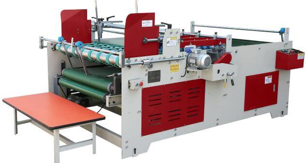 Semi automatic folder gluer   Model  JWY