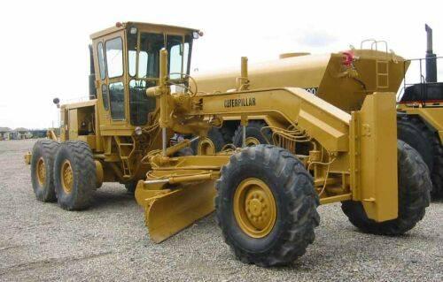 used motor grader CAT 14G