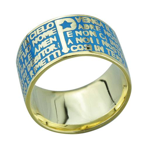 2015 Manli the most popular Natural blue Bible Rings