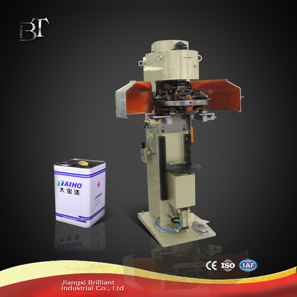 Hot sale semi-automatic square can seling machine