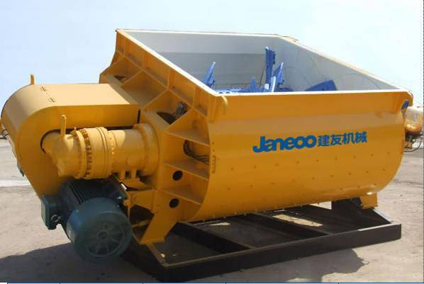 JS SERIES TWIN-SHAFT CONCRETE MIXER