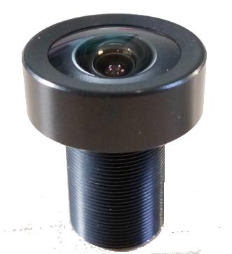 "6.0 Megapixel 5mm 1/1.8"" M12 lenses"