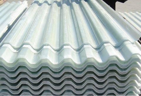 Translucent Fiberglass Roofing Materials