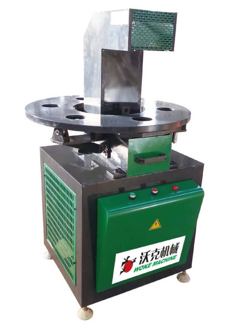 Aluminum profile 6-position punching machine