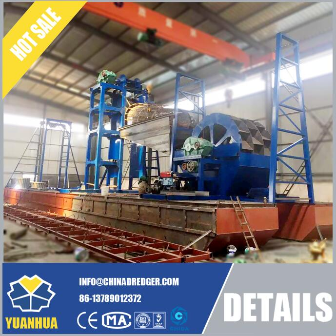 Dredging Plants for Iron sand digging and processing