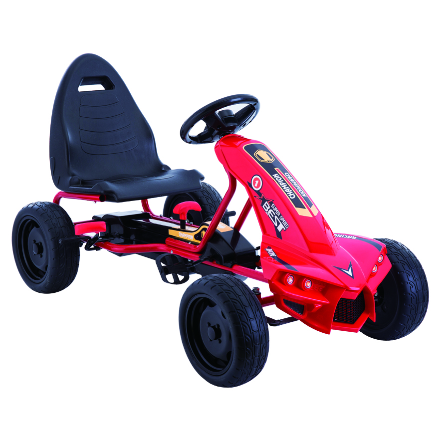 A-18 kids pedal go kart manual kart for children