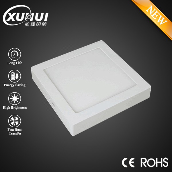 Surface Mounted LED Panel Light 6w 12w 18w 24w Square LED Ceiling Lights LED Downlight AC85-265V