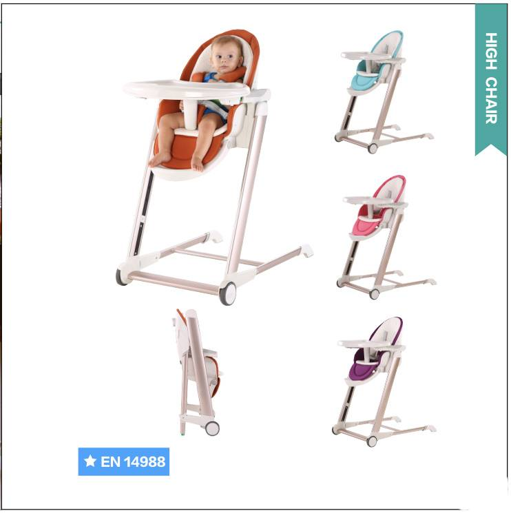 luxury safety baby high chair