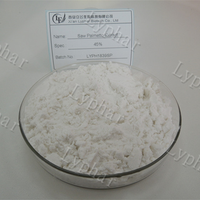 Manufacturer Supply Saw Palmetto Extract Fatty Acid