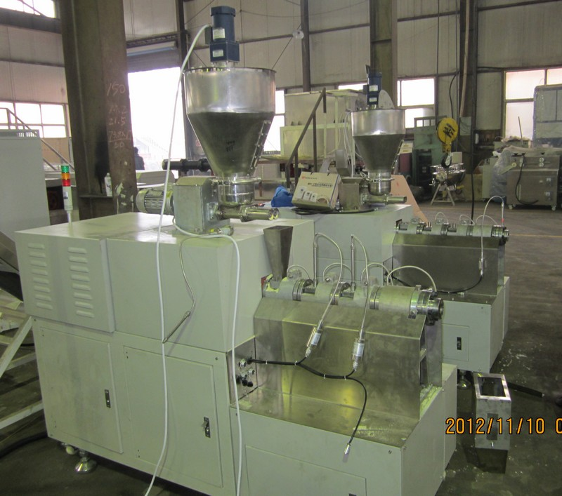 Laboratory twin Screw Extruder