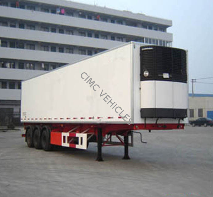 refrigerated Semi-Trailer 2 axles