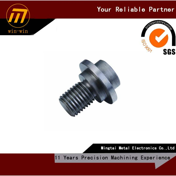 custom CNC machining shoulder bolt, drawing welcome