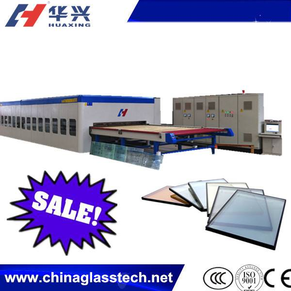 Electric Control 4-19mm Horizontal Glass Tempering Furnace