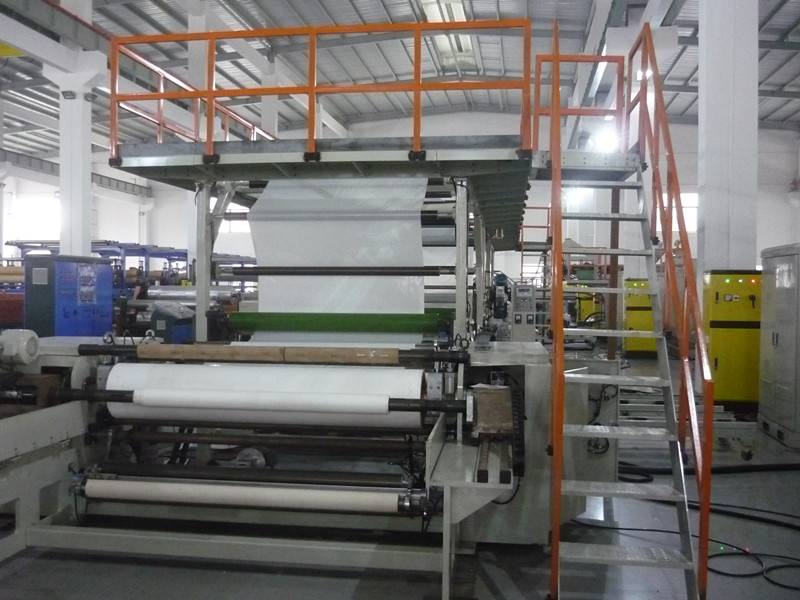 PE & paper coating laminating machine