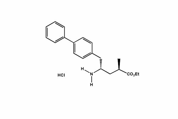 (2R,4S)-ethyl 5-([1,1'-biphenyl]-4-yl)-4-amino-2-methyl pentanoate (hydrochloride)
