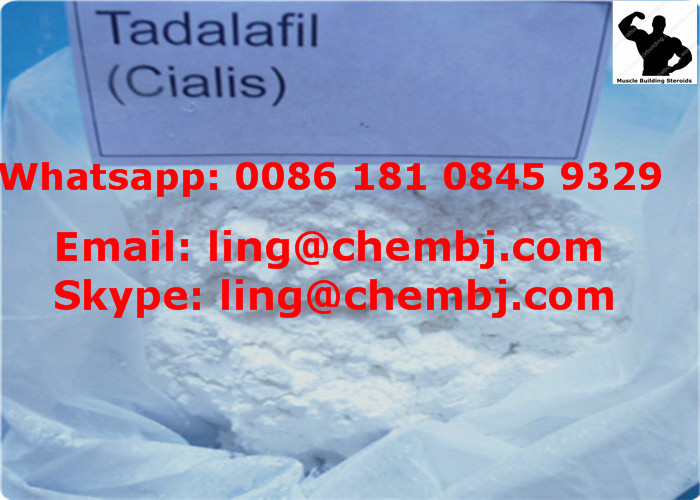 Tadalafil Powder Erectile Dysfunction Treatment Tadalafil/Cialis Sex Enhancement