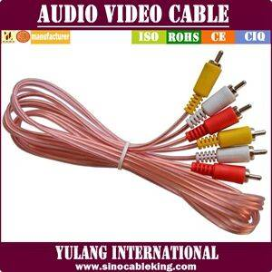 Pure copper audio video cable with factory price