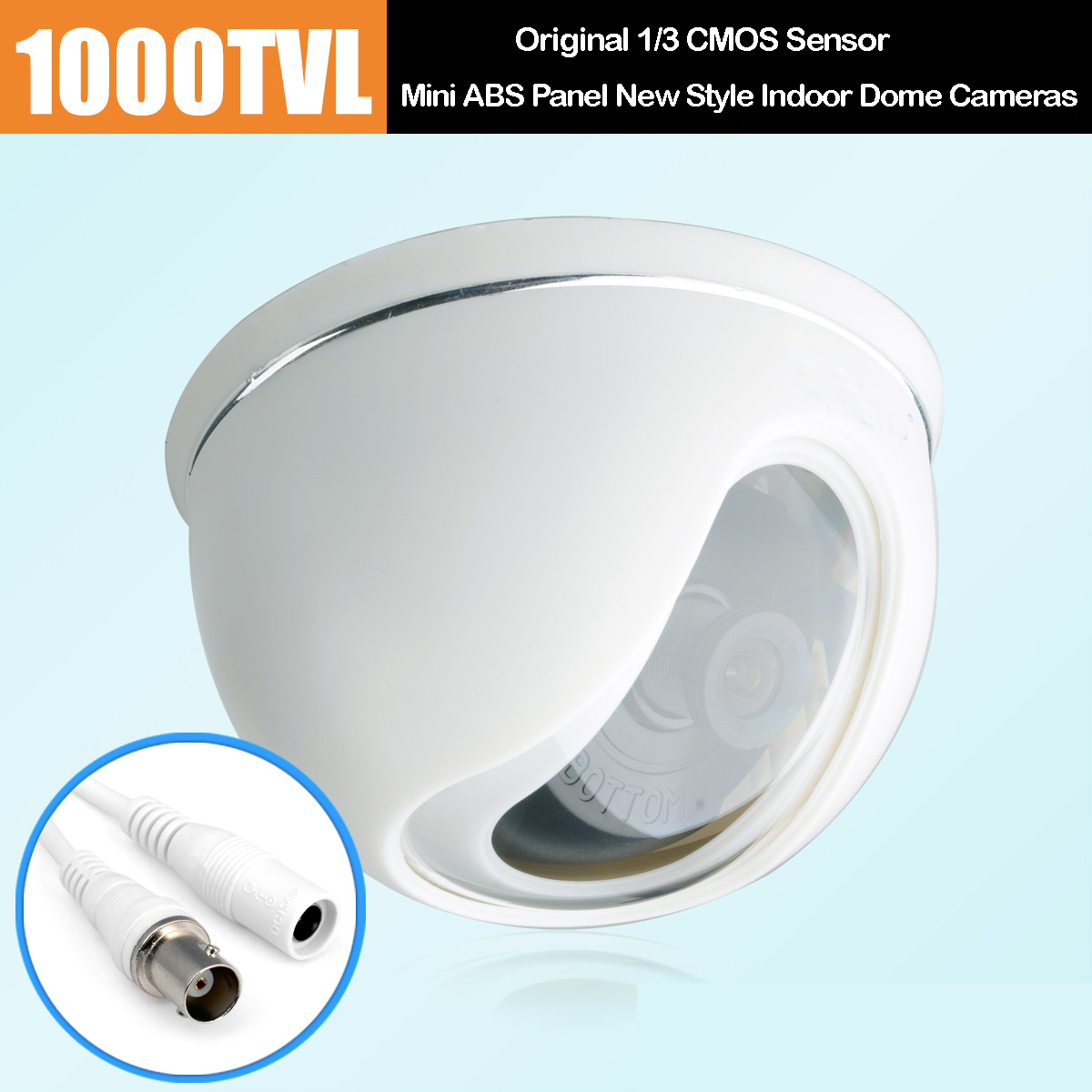 Sony 1000TVL Mini ABS Panel New Style Indoor Dome CCTV Cameras