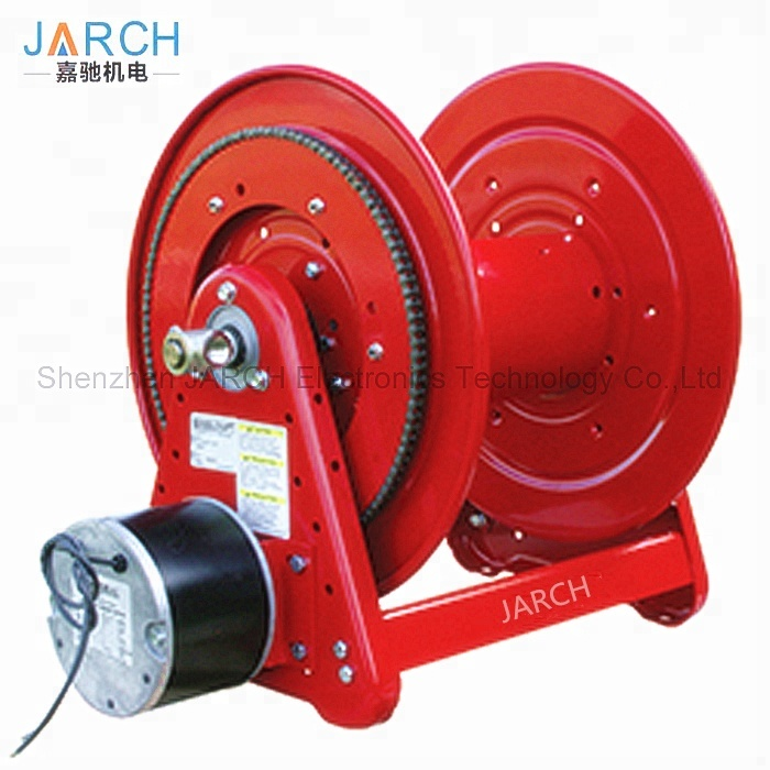Heavy Duty 115 V AC Motor Driven 100 ft. Hose Reel, Customized Stainless Steel Water Cable Reels
