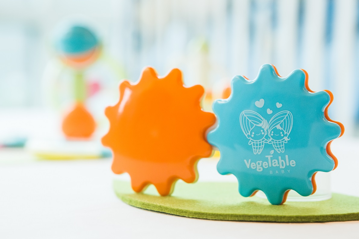 baby product Rattle Sunflower_Eco-Friendly Biodegradable Rattle