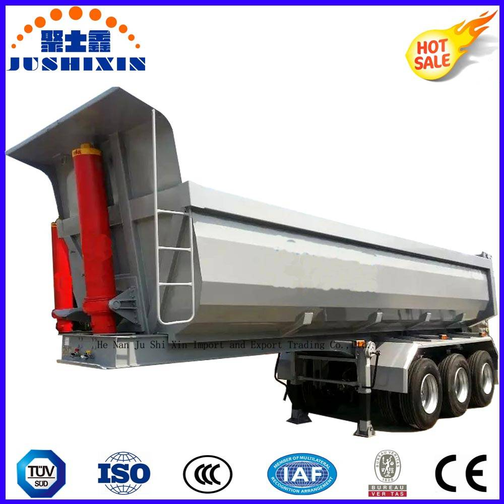 60ton 3 Axles Tipper Trailer Tractor Dump Trailer for Sale