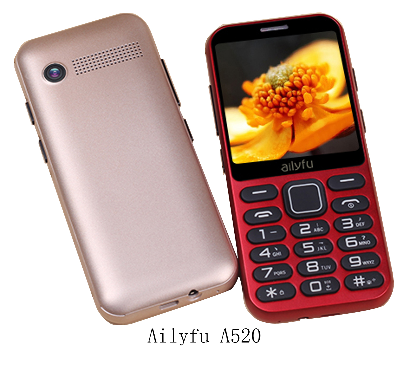 2.4-inch MTK6261D senior phones, OEM manufacturer in China