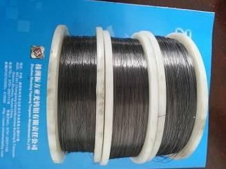 High quality pure tungsten wire 0.2mm black wire  0.2mmtungsten filament