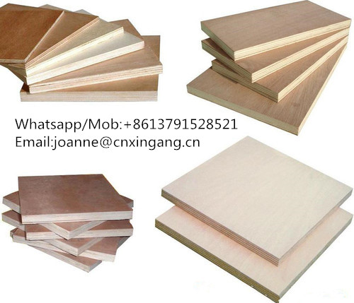 1220x2440mm Bintangor Plywood Okoume Plywood Commercial Plywood