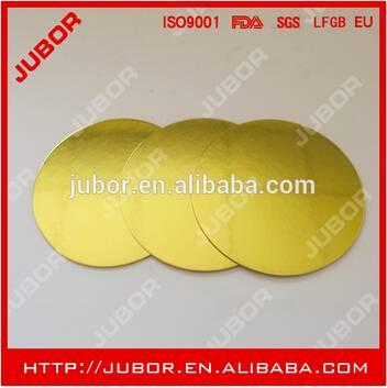 Cardboard Gold Small Cake Board,Cake Circle