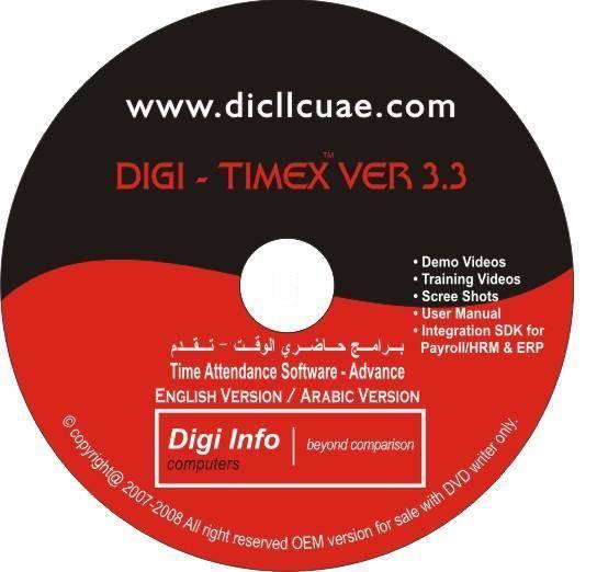 DIGI-TIMEX-Web Based Time Attendance Software,Dubai,UAE
