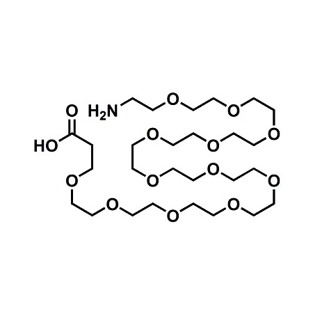 Amino-PEG12-propionic acid; H2N-PEG12-CH2CH2COOH; CAS#1186194-33-1