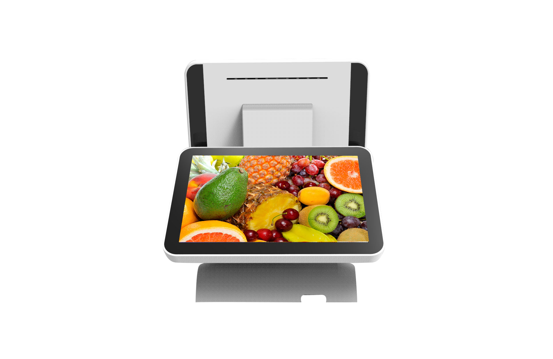 All in one dual screen Android Pos Terminal retail touch NFC Pos System H2121