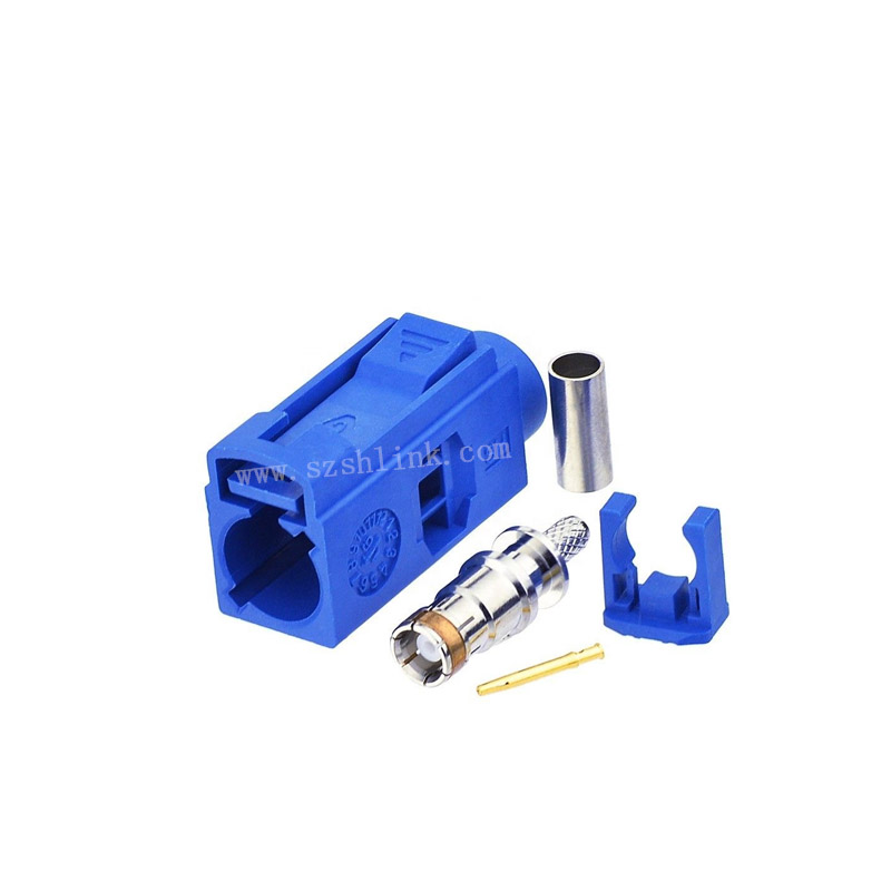 Gps antenna Fakra C code connector for RG316 coaxial cable