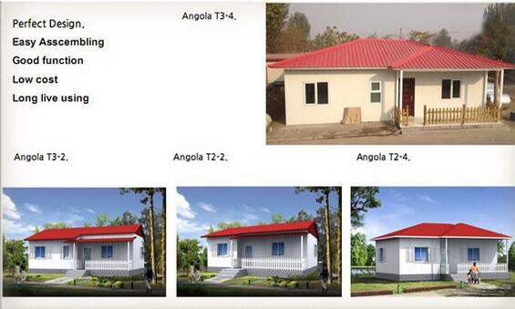 prefab house made in China , 2 bedroom prefabricated houses and home