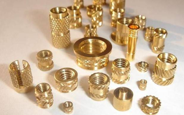 Copper/Brass Knurled Nuts