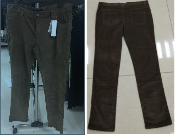 Readymade Ladies corduroy pants manufacture&supplier
