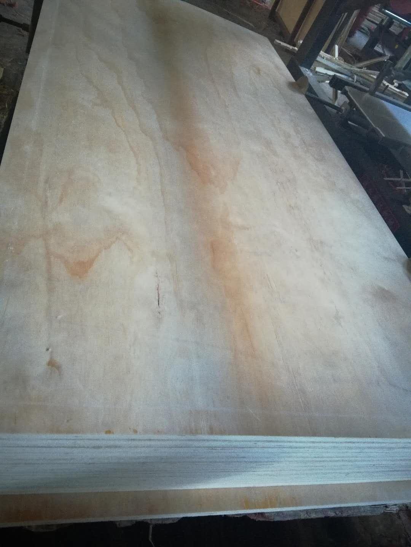 poplar lvb pine faced door frame for korea